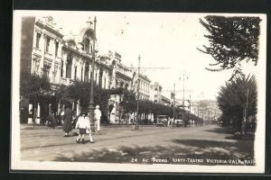 AK Valparaiso, Avenida Pedro, Montt-Teatro