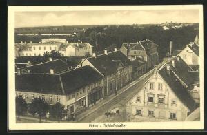 AK Mitau, Blick in die Schlossstrasse