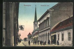 AK Ersekujvar, Komaromi utca