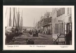 AK Curacao / D. W. I., Handelskade