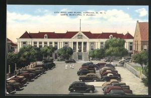 AK Curacao / N.W. I., City Hall and Plaza