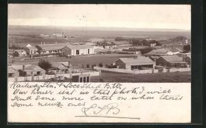 Foto-AK Beaufort West, Railway Ltd., Loco-Sheds