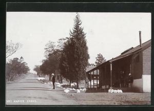 AK Fort Napier, Ortspartie
