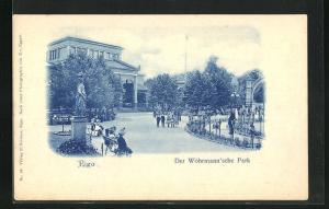 AK Riga, Der Wöhrmann`sche Park