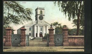 AK Honululu, Kawaiahao Church, built of Coral 1830