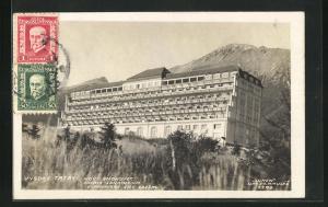 AK Vysoke Tatry, Novy Smokovec, Palace-Sanatorium, Slavkovsky Stit