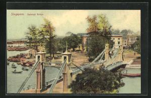 AK Singapore, Cavenagh Bridge, Brücke
