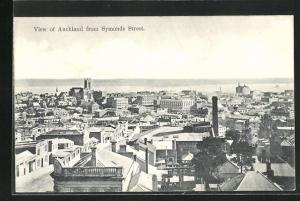 AK Auckland, View from Symonds Street