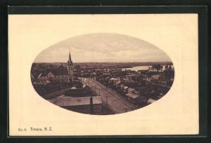 AK Timaru, Ansicht des Ortes
