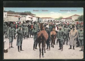AK Skutari / Shkodra, Pferdeankauf in Albanien