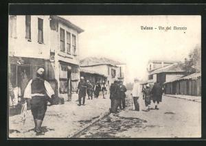 AK Valona, Via del Mercato, Einkaufsstrasse