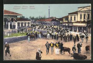 AK Tirana, Markt, Totalansicht