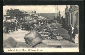 AK King William`s Town, Cathcart Street, Ortspartie
