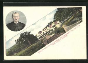 AK Rondebosch, Groote Schuur, Residenz von Cecil J. Rhodes