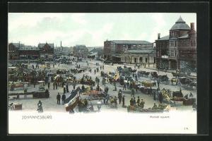 AK Johannesburg, Market square, Marktplatz