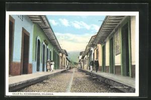 AK Bucaramanga, Calle 5a, Blick in die Strasse