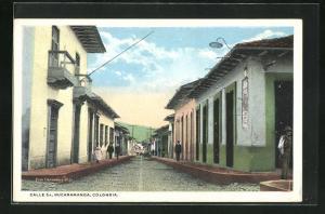 AK Bucaramanga, Calle 5a, Ortspartie