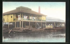 AK Singapore, Timber Yard, Holzlager