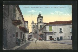 AK Habana, Alrededores de la Catedral