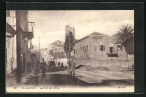 AK Beyrouthe, La Rue Bab-Driss