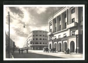 AK Tripoli, Corso Italo Balbo, Strassenpartie