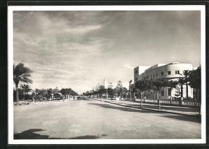 AK Tripoli, Passeggiata Pietro Badoglio e Casa Littoria