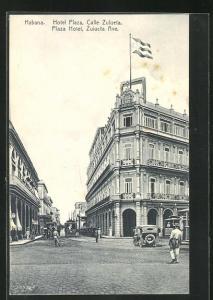 AK Habana, Hotel Plaza, Calle Zulueta