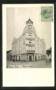 AK Novi Sad, Apotheke an einer Strassenecke