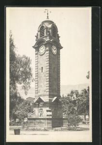 Foto-AK Antofagasta, Clock-Tower / Uhrturm