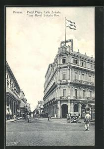 AK Habana, Plaza Hotel, Calle Zulueta