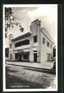 AK Leopoldville, l'Architecture a Leo