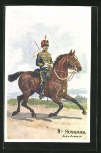 AK 8th Hussars, brit1ischer Husar, Uniform