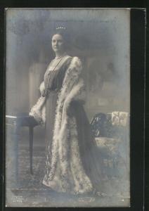 AK Portrait Wilhelmina von den Niederlanden