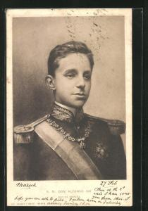 AK S. M. Don Alfonso XIII, Rey de Espana