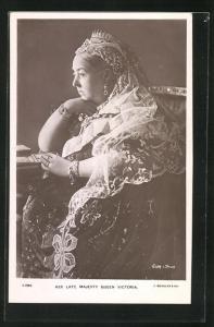 AK Her late Majesty Queen Victoria von England