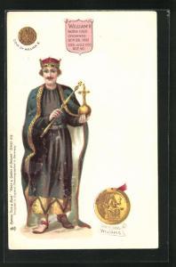 AK William II. von England, Born 1060, Crowned 1087, Died 1100
