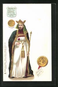 AK Henry IV. von England, Born 1366, Crowned 1399, Died 1399