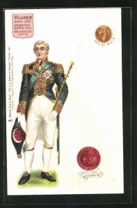 AK William IV. von England, Born 1765, Crowned 1831, Died 1837