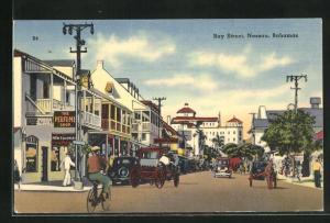 AK Nassau, Bay Street mit Geschäften