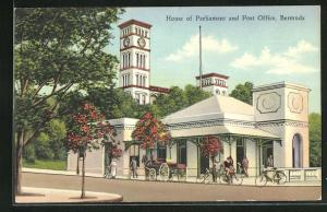 AK Bermuda, House of Parliament and Post Office