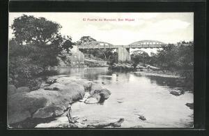 AK San Miguel, El Puente de Morazan
