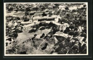 AK An Aerial View of the Victoria Falls Hotel
