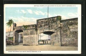 AK Santo Domingo, Diego Columbus Old Gate