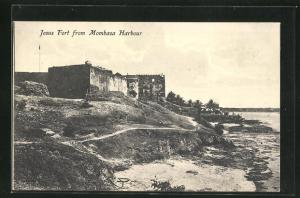 AK Mombasa, Jesus Fort from Mombasa Harbour