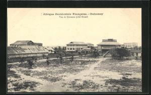 AK Dahomey, Vue de Cotonou, Cote Ouest