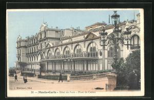 AK Monte-Carlo, Hotel de Paris, Place du Casino