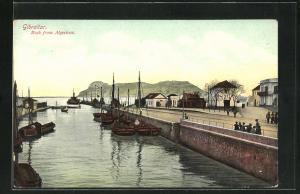 AK Gibraltar, Rock from Algericas