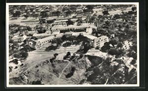 AK Victoria Falls, Victoria Falls Hotel, Fliegeraufnahme