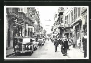 AK Gibraltar, View of Main Street