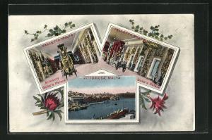 AK Valletta, Armoury Duke`s Palace, Vittoriosa, Hafen